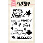 Echo Park - Clear Acrylic Stamps - Grateful Heart