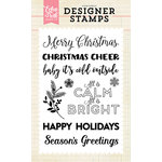 Echo Park - Christmas - Clear Acrylic Stamps - Calm and Bright