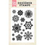 Echo Park - Clear Acrylic Stamps - Snow is Falling
