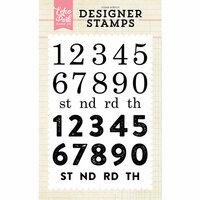 Echo Park - Clear Photopolymer Stamps - Countdown Numbers
