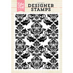 Echo Park - Clear Photopolymer Stamps - Fancy Damask A2
