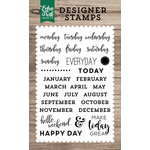 Echo Park - Clear Acrylic Stamps - Planner Essentials
