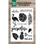 Echo Park - Clear Acrylic Stamps - Tropical Vibes