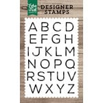 Echo Park - Clear Acrylic Stamps - James Alphabet