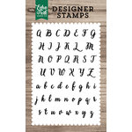 Echo Park - Clear Acrylic Stamps - Charlotte Alphabet