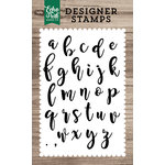 Echo Park - Clear Acrylic Stamps - Olivia Alphabet