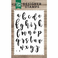 Echo Park - Clear Photopolymer Stamps - Olivia Alphabet