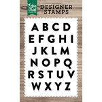 Echo Park - Clear Photopolymer Stamps - Mason Alphabet