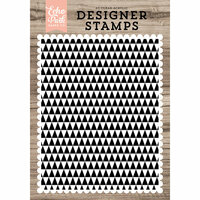 Echo Park - Clear Photopolymer Stamps - Modern Triangles A2 Background