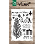 Echo Park - Clear Acrylic Stamps - Merry Christmas
