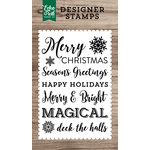 Echo Park - Clear Acrylic Stamps - Magical Sentiments
