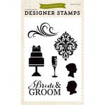Echo Park - Clear Acrylic Stamps - Wedding