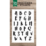 Echo Park - Clear Acrylic Stamps - Harper Alphabet