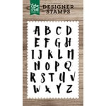 Echo Park - Clear Photopolymer Stamps - Harper Alphabet