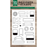 Echo Park - Clear Acrylic Stamps - Simple Labels