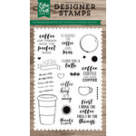 Echo Park - Clear Acrylic Stamps - Coffee and Friends