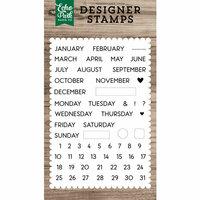 Echo Park - Clear Photopolymer Stamps - Calendar Essentials