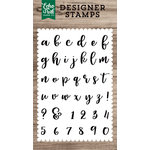 Echo Park - Clear Acrylic Stamps - Avery Lowercase