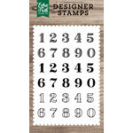 Echo Park - Clear Acrylic Stamps - Classic Numbers