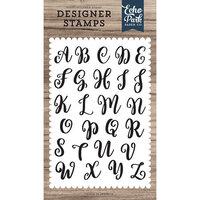 Echo Park - Clear Photopolymer Stamps - Rosie Uppercase Alphabet