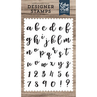 Echo Park - Clear Photopolymer Stamps - Rosie Lowercase Alphabet