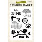 Echo Park - Summer Collection - Designer Stamps - Hello Summer