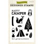 Echo Park - Summer Collection - Designer Stamps - Happy Camper