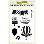 Echo Park - Children Collection - Photopolymer Stamps - Let's Celebrate