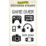 Echo Park - Children Collection - Designer Stamps - Game On