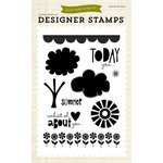 Echo Park - Summer Collection - Designer Stamps - Sweet Summertime