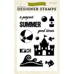 Echo Park - Summer Collection - Photopolymer Stamps - Perfect Summer