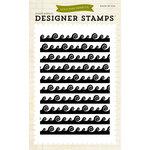 Echo Park - Summer Collection - Designer Stamps - Wave