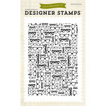 Echo Park - Everyday Collection - Designer Stamps - Glasses