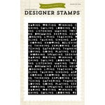 Echo Park - Everyday Collection - Photopolymer Stamps - Words