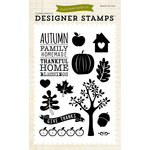 Echo Park - Fall - Clear Acrylic Stamps - Thankful Home