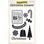 Echo Park - Christmas - Clear Acrylic Stamps - Christmas Joy