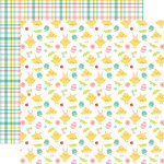 Echo Park - Easter Wishes Collection - 12 x 12 Double Sided Paper - Cute Chicks