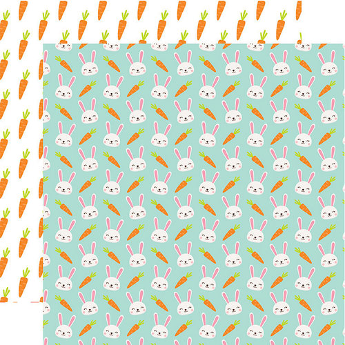 Echo Park - Easter Wishes Collection - 12 x 12 Double Sided Paper - Some Bunny Special