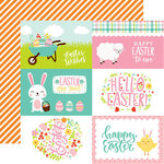 Echo Park - Easter Wishes Collection - 12 x 12 Double Sided Paper - 4 x 6 Journaling Cards