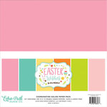 Echo Park - Easter Wishes Collection - 12 x 12 Paper Pack - Solids