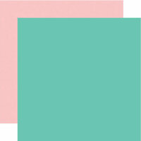 Echo Park - Easter Wishes Collection - 12 x 12 Double Sided Paper - Teal