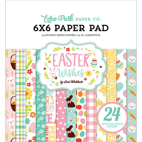 Echo Park - Easter Wishes Collection - 6 x 6 Paper Pad