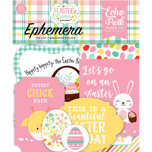 Echo Park - Easter Wishes Collection - Ephemera