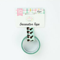 Echo Park - Easter Wishes Collection - Decorative Tape - Chocolate Bunnies