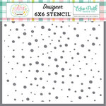 Echo Park - Easter Wishes Collection - 6 x 6 Stencil - Speckled Egg
