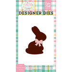 Echo Park - Easter Wishes Collection - Designer Dies - Solid Chocolate Bunny