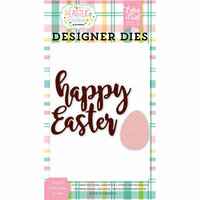 Echo Park - Easter Wishes Collection - Designer Dies - Happy Easter Egg