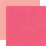 Echo Park - Fashionista Collection - 12 x 12 Double Sided Paper - Dark Pink