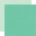 Echo Park - Fashionista Collection - 12 x 12 Double Sided Paper - Dark Teal