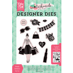 Echo Park - Fashionista Collection - Designer Dies - Simply Fabulous